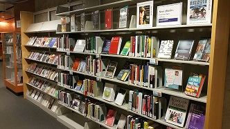 image - new books display