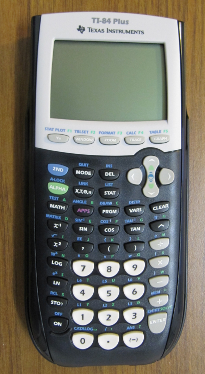 picture of ti-84 calculator