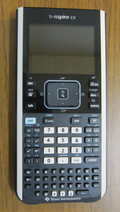 picture of ti-nspire calculator
