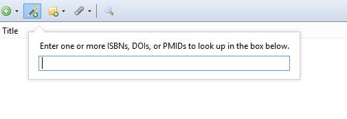 Add ISBN.