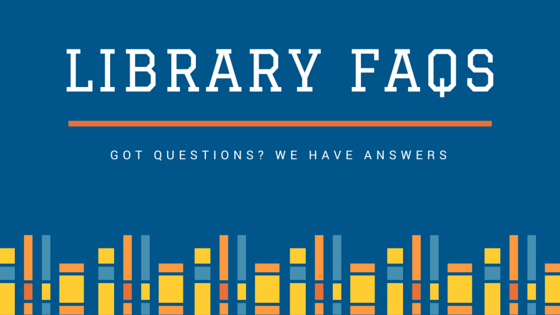 logo of library FAQs