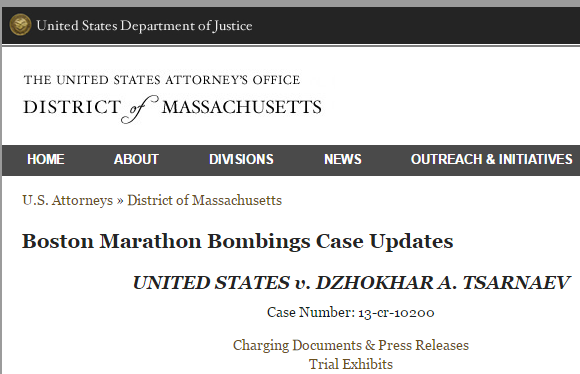 Boston Marathon Bombings Case Updates    Department of Justice
