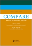 Cover of a journal titled Compare