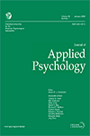 Journal of Applied Psychology image