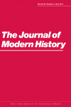 Journal of Modern History image