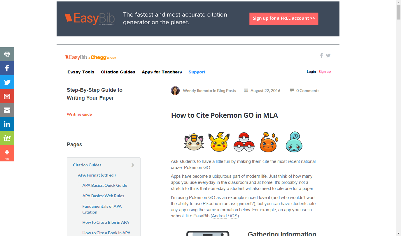 How to Cite Anything in APA Format  EasyBib