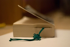Book with a bookmark