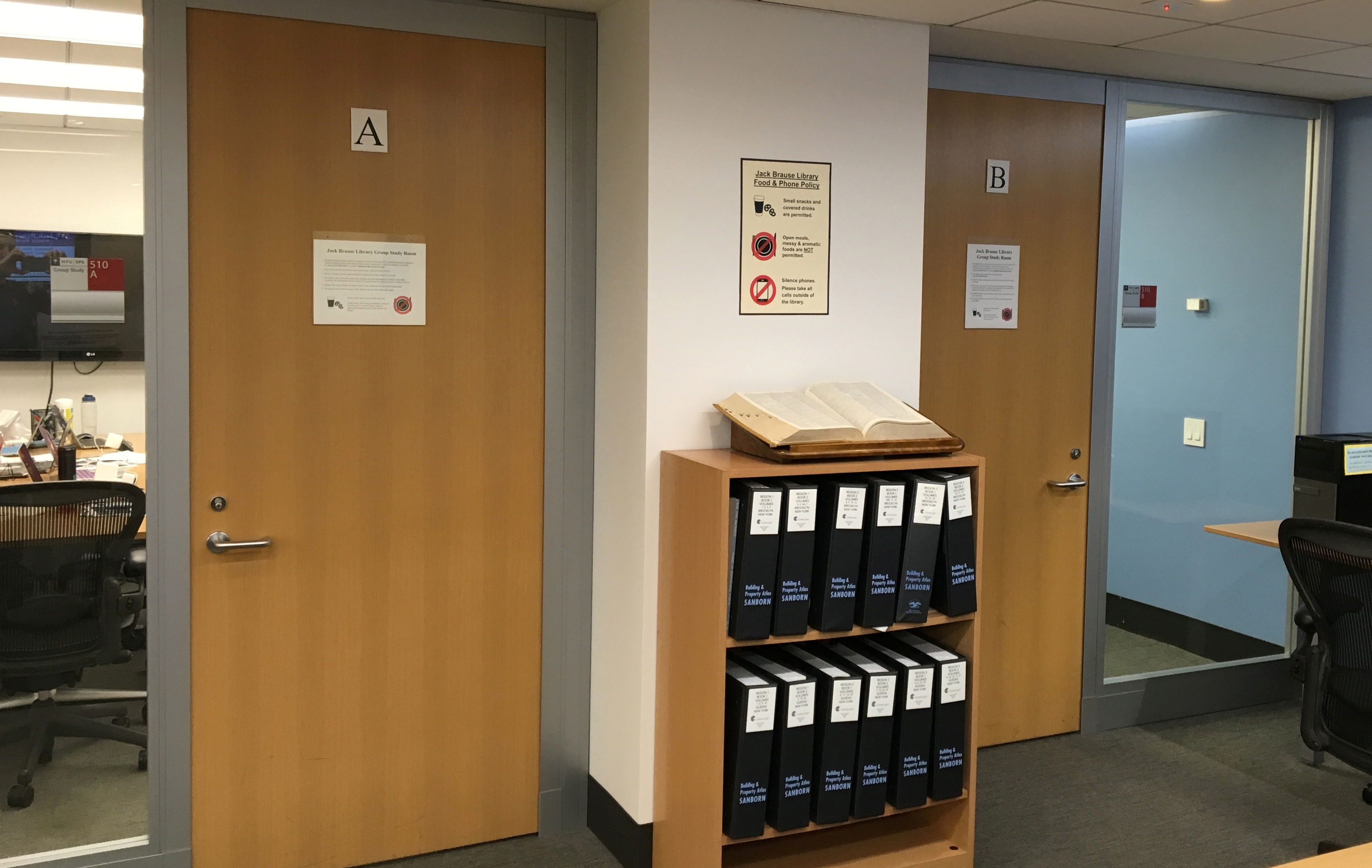 Group Study Rooms Jack Brause Library Research Guides at New