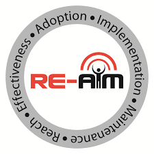 RE-AIM Logo from Virginia Tech