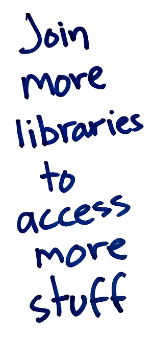 Join more libraries