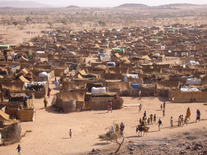 Refugee Camp- Darfur, Chad