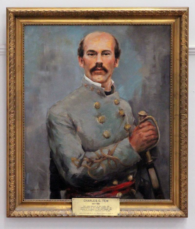 Portrait Colonel Charles Courtenay Tew