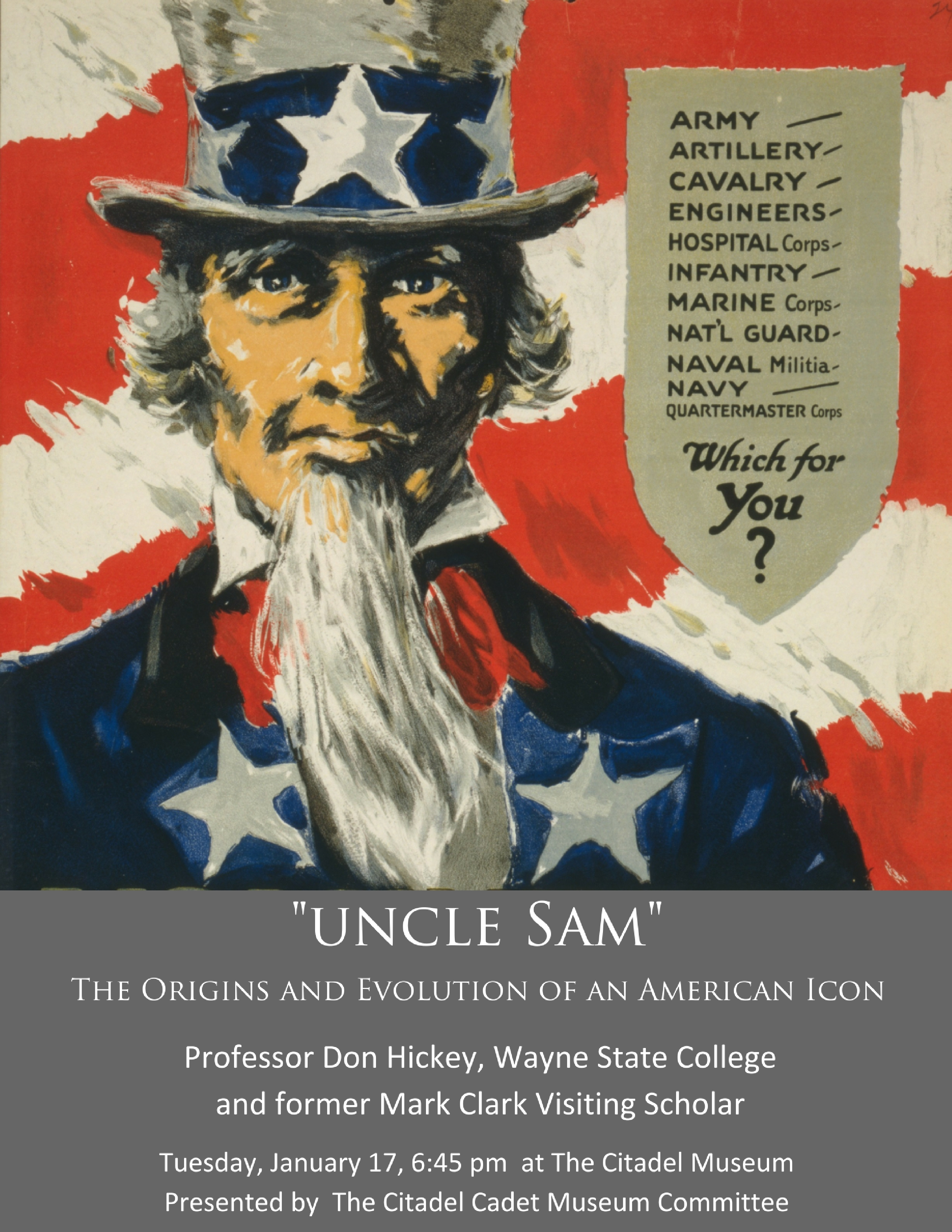 uncle sam event poster