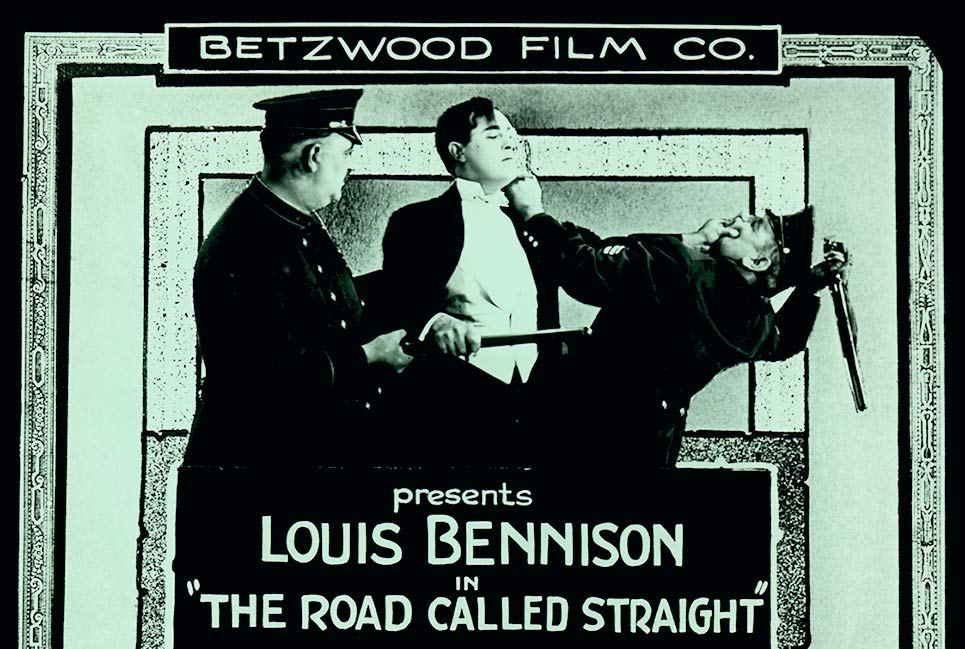 Film still from Betzwood Studio film