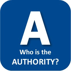 A Who is the AUTHORITY?