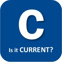 C Is it CURRENT?