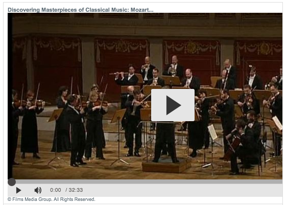 Video: Discovering Masterpieces of Classical Music Mozart