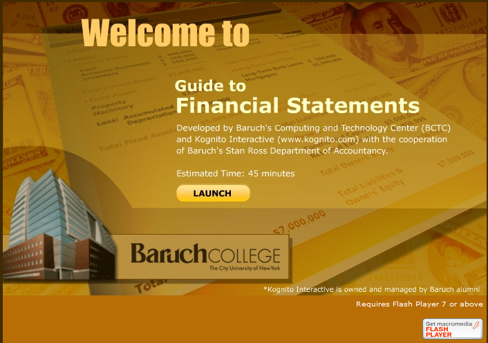 Guide to financial statements video