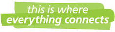 "CHSP logo ""this is where everything connects"""