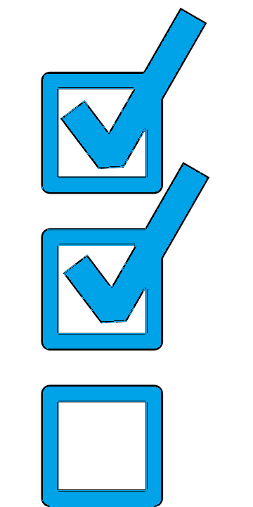 Check List Icon with two checks