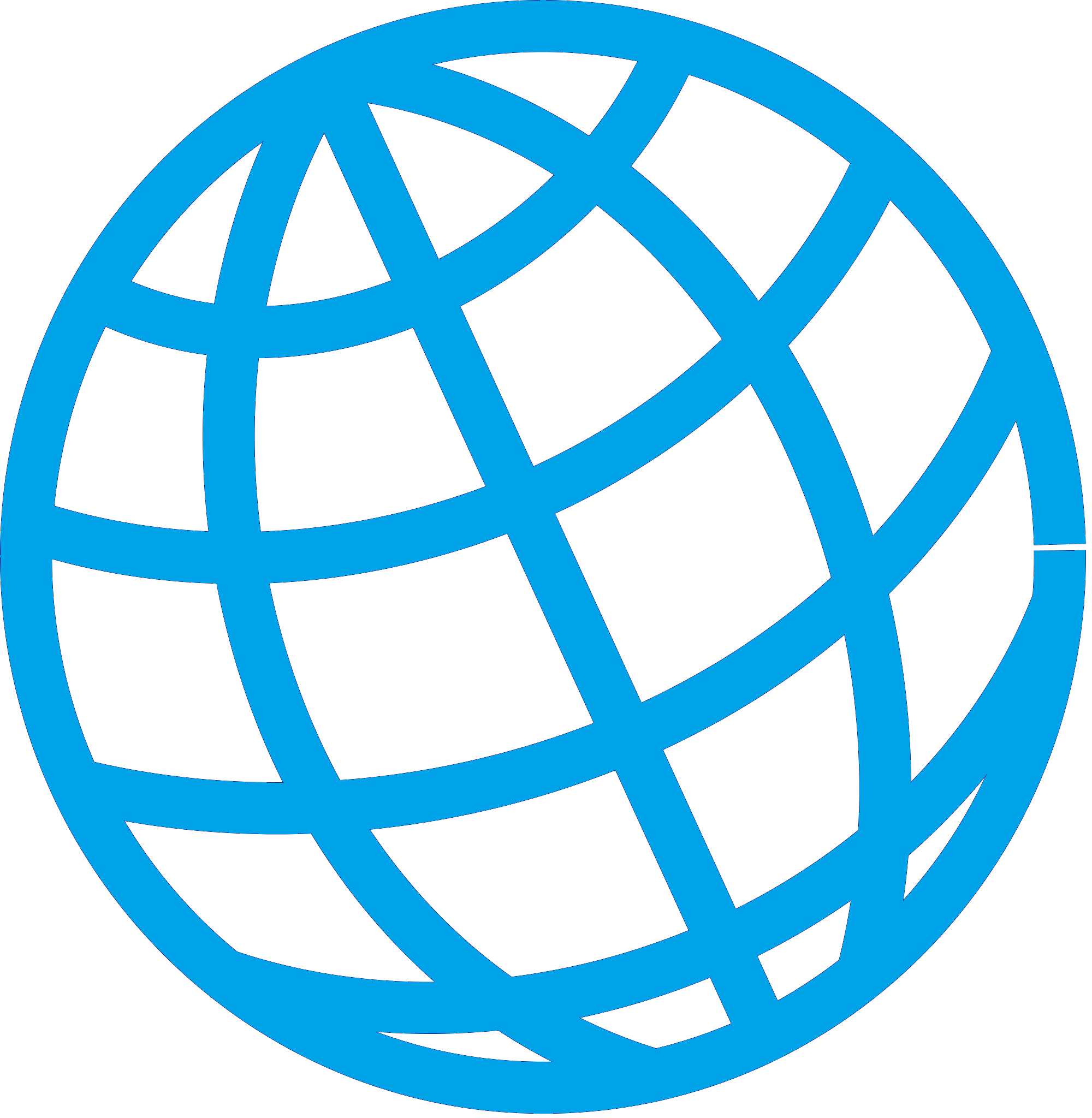 Interconnected Globe Icon