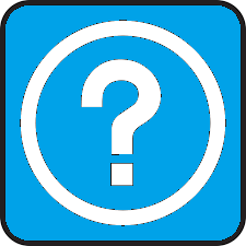 "An image of a Question Mark to designate the ""Help"" box."
