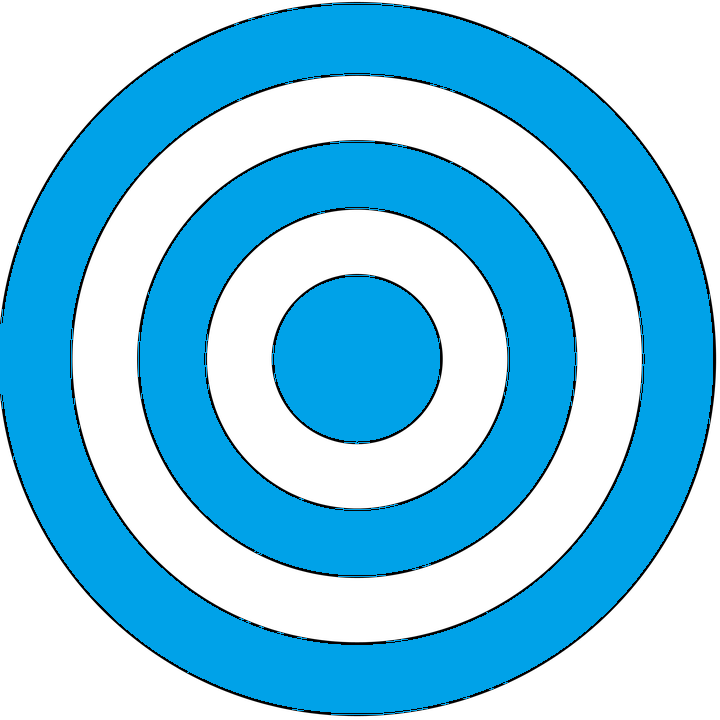 Informational Bulls eye Icon