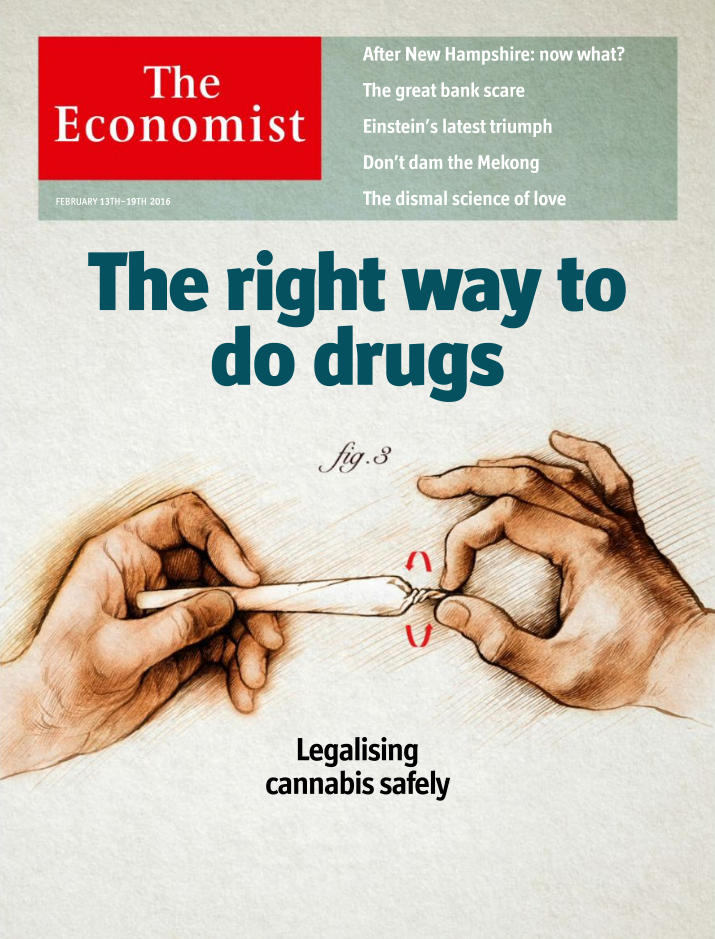 Cover of The Economist from February 13, 2016