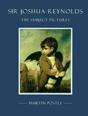 cover to book: Sir Joshua Reynolds: The subject pictures
