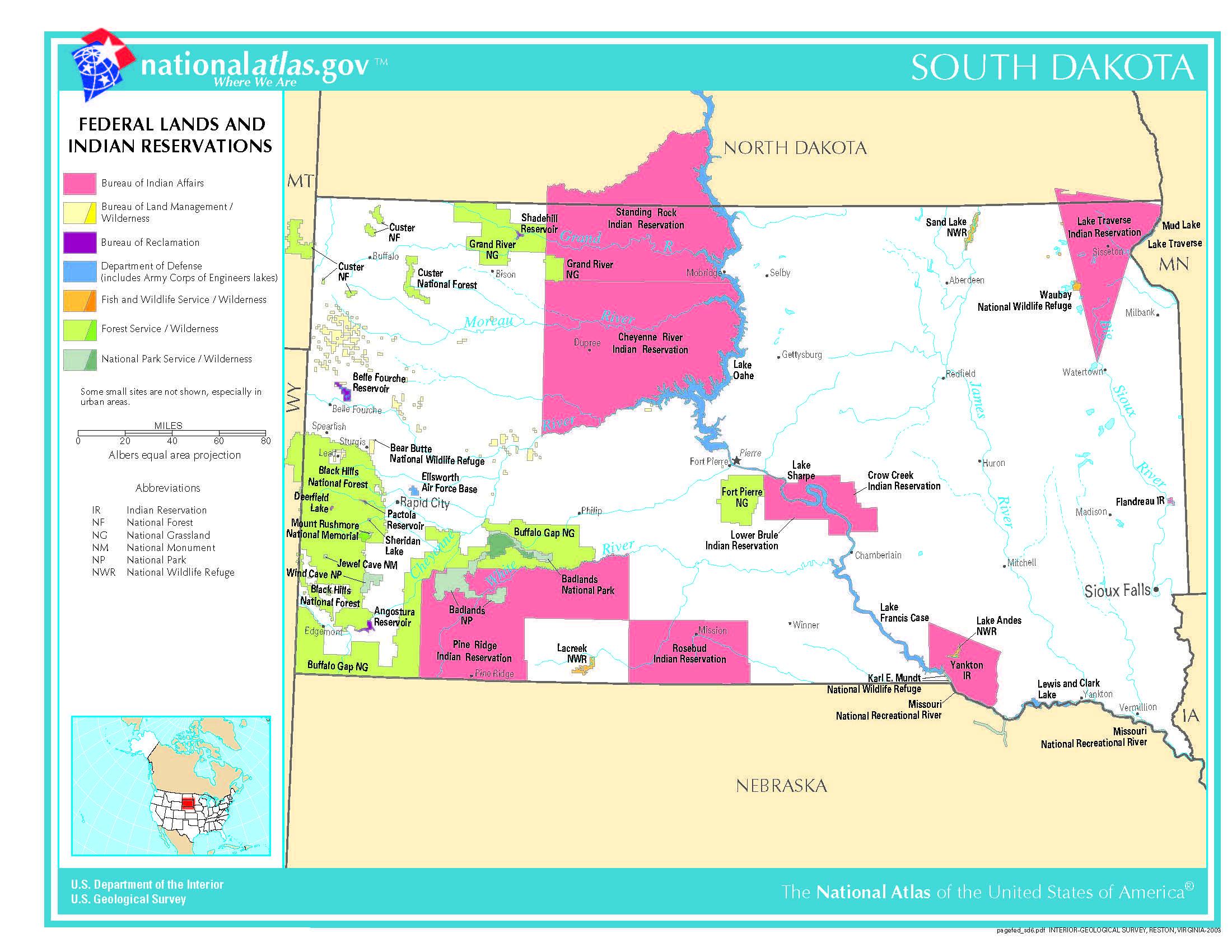 south dakota public land map Conservation Government Information Libguides At South Dakota south dakota public land map