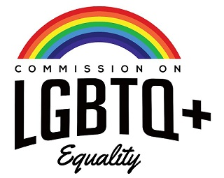 Comiision on LGBTQ+ Equality logo