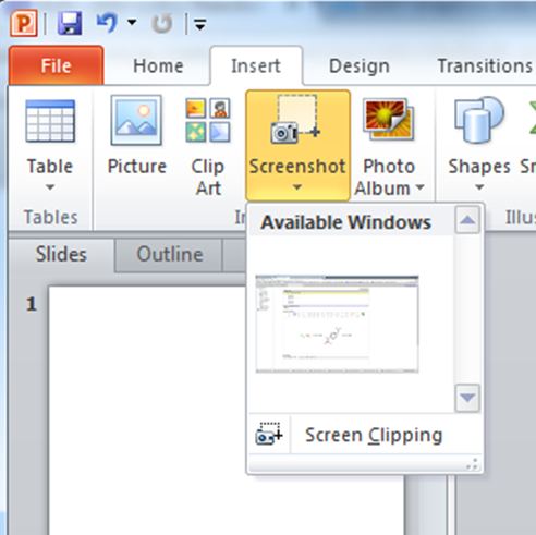 Graphics into PowerPoint - Scilligence ELN - Guides at