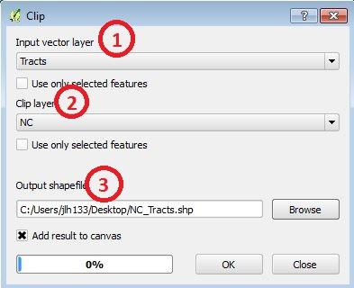 Clip Data - QGIS - LibGuides at Duke University