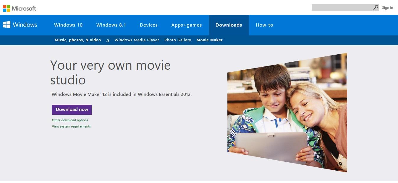 scaricare windows movie maker gratis