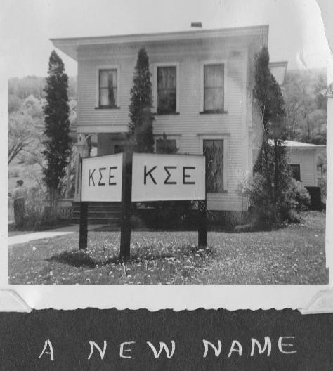 Kappa Sigma Epsilon - First House, North Main St - 1954
