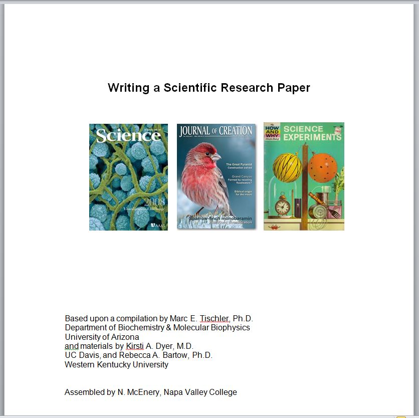 Writing for the Sciences - Anatomy and Physiology - LibGuides at ...