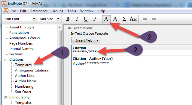 how to use endnote x7