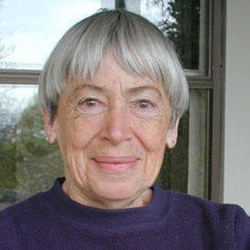 Ursula LeGuin, photo by Eileen Gunn