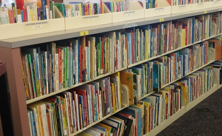 Image of Childrens Book Shelves
