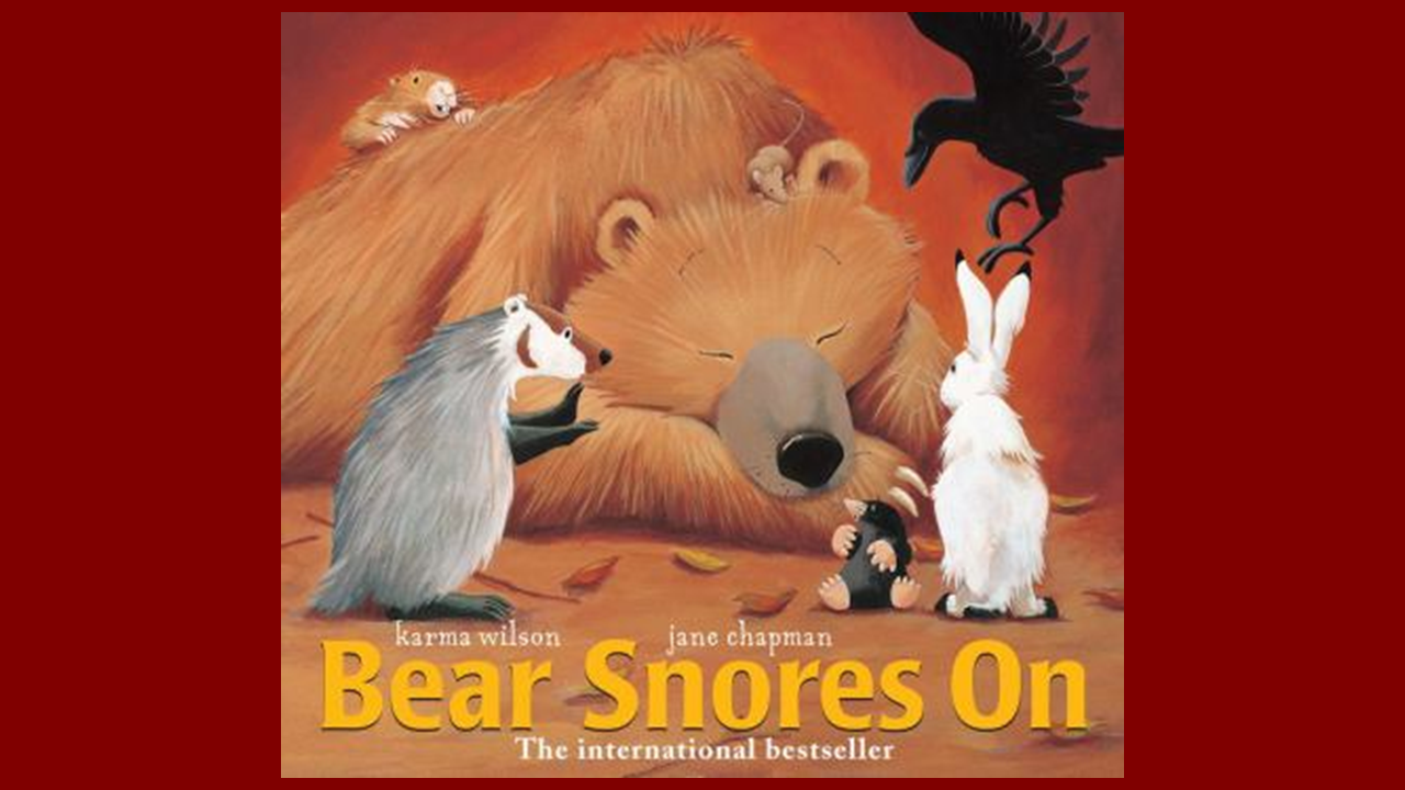 Book Cover for: Bear Snores On