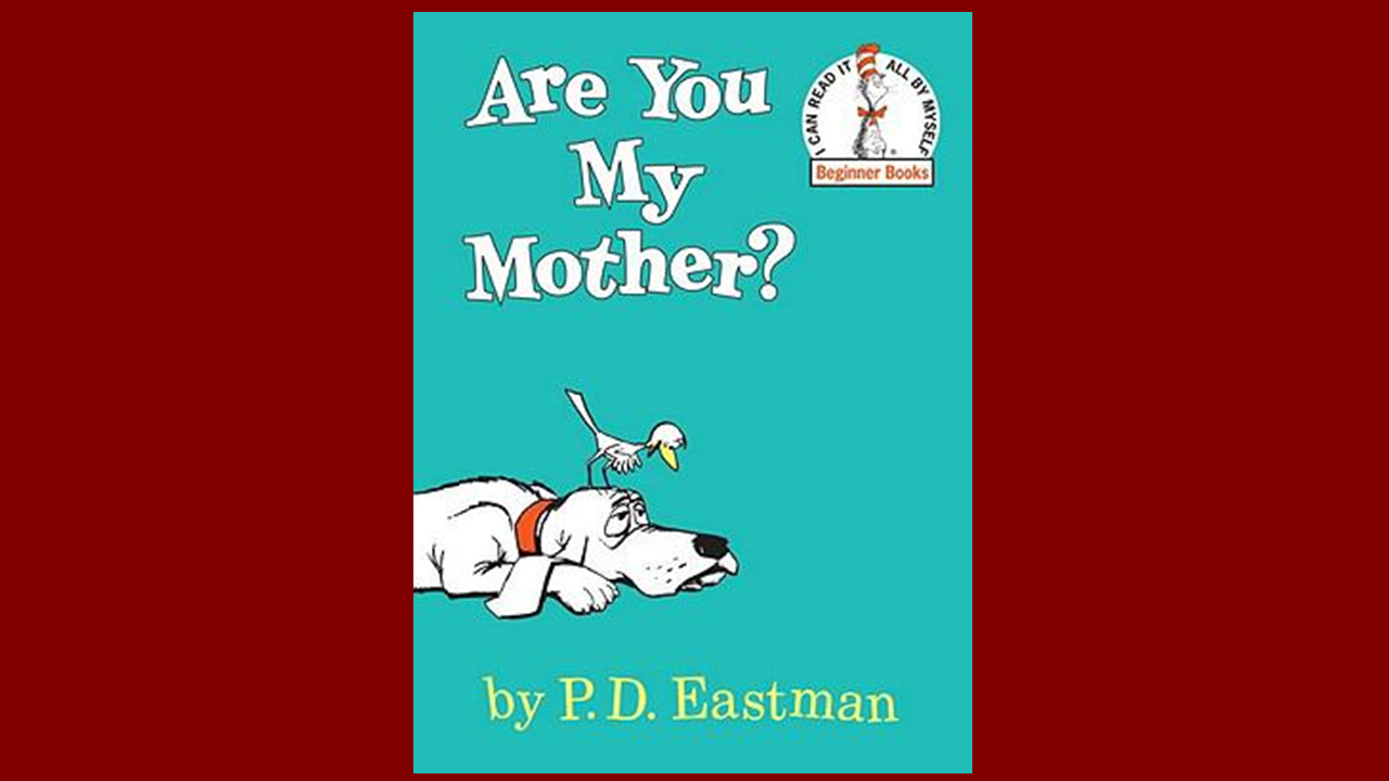 Book Cover for: Are You My Mother