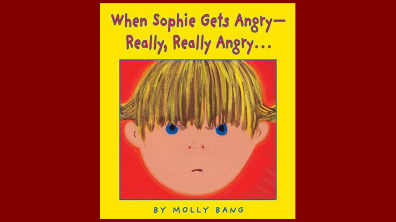 Book Cover for: When Sophie Gets Angry -- Really, Really Angry..