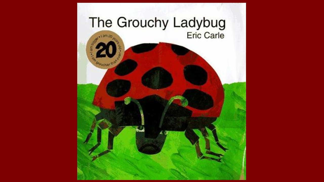 Book Cover for: The Grouchy Ladybug