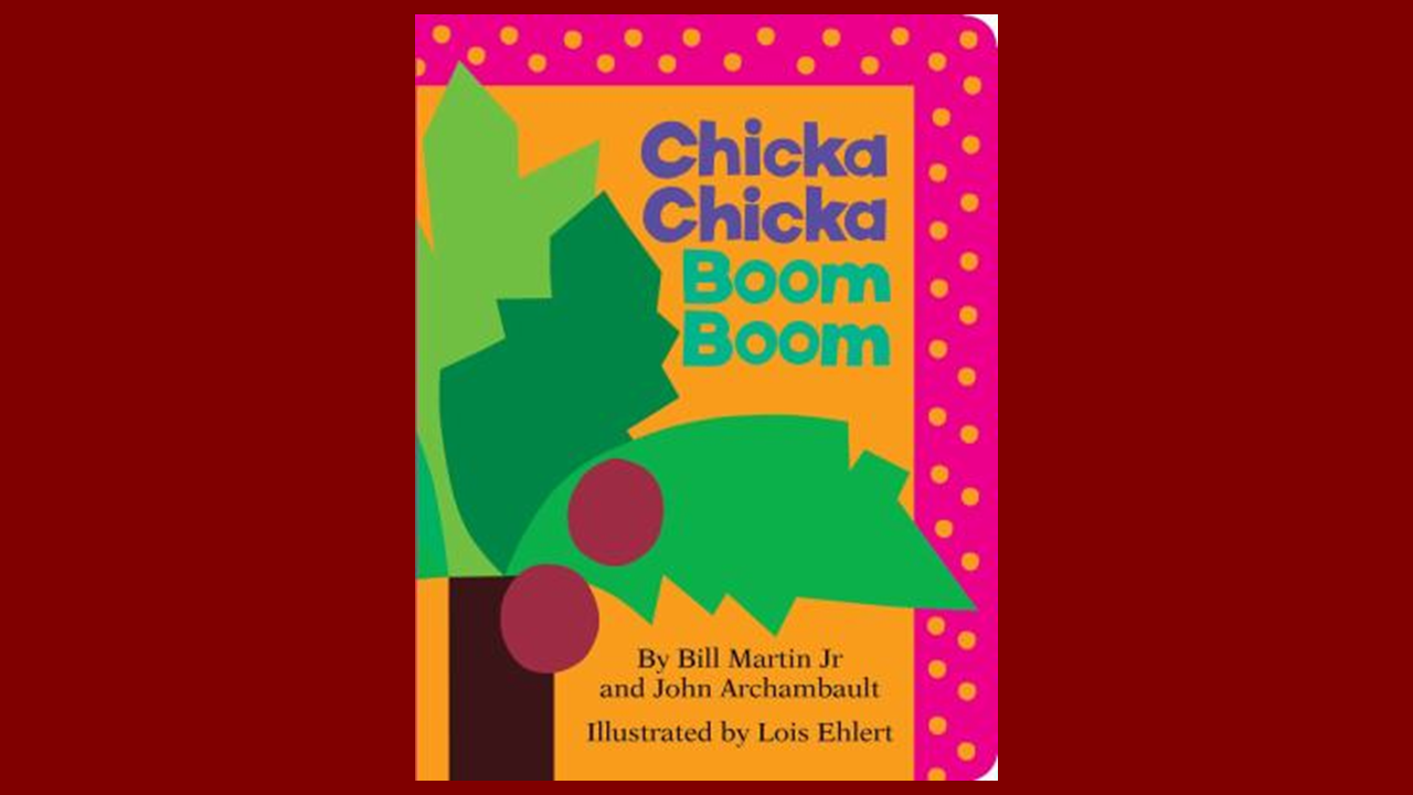 Book Cover for: Chicka Chicka Boom Boom