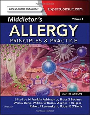Cover Image of Middleton's Allergy: Principles & Practice