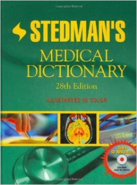Cover Image of Stedman's Medical Dictionary