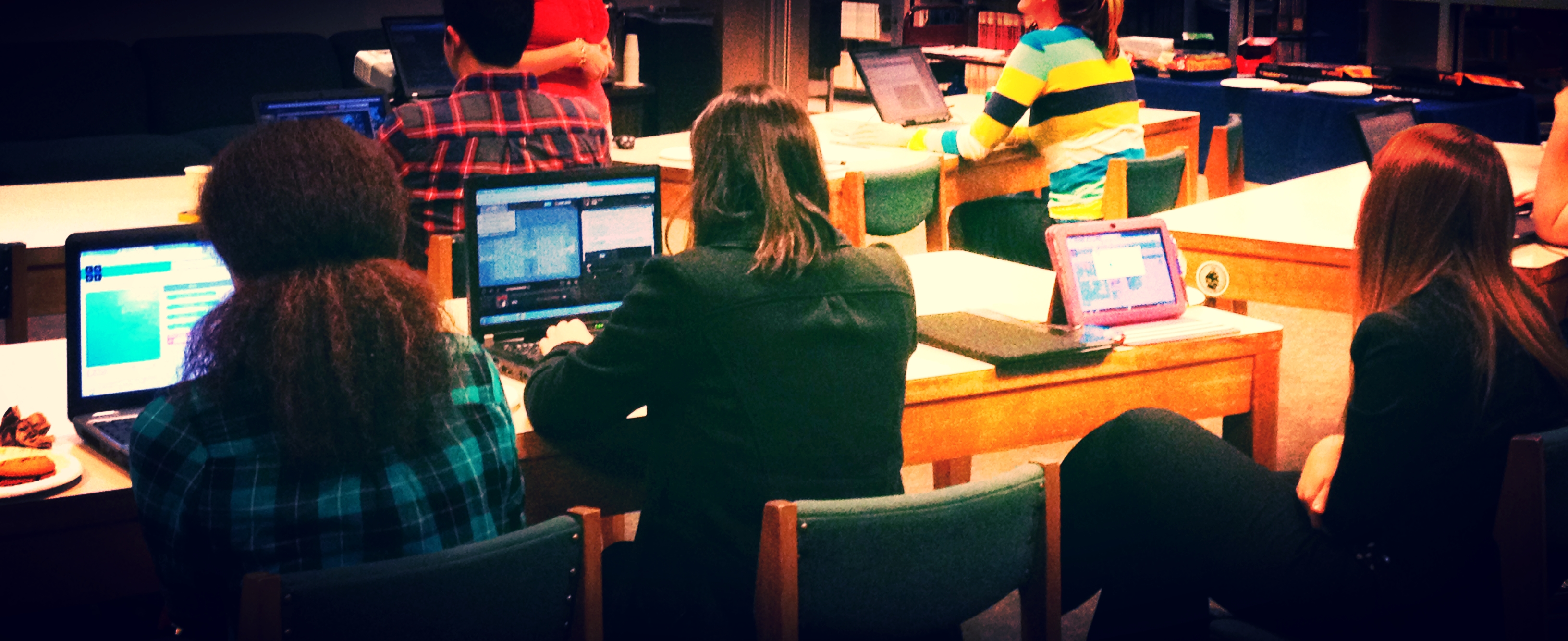 Hour of Code at HSU Library - 2014