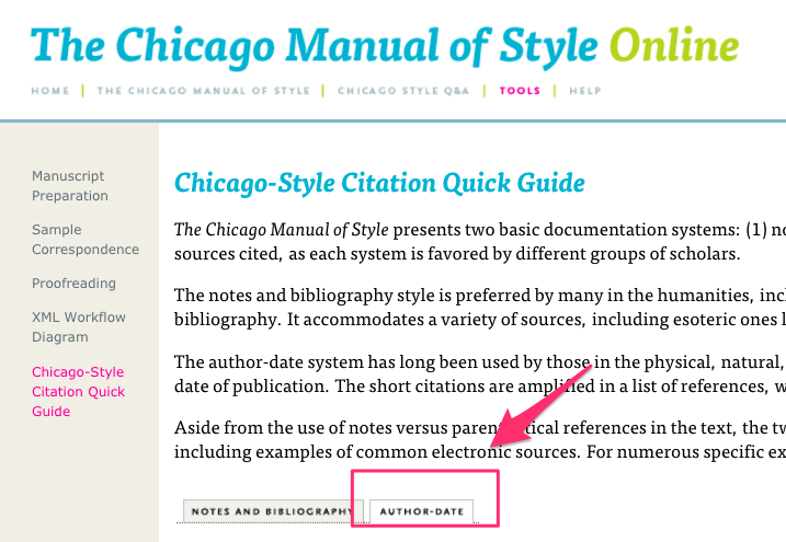 Chicago style citation master thesis