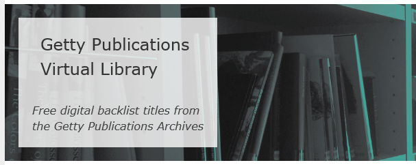 Getty Publication Virtual Library