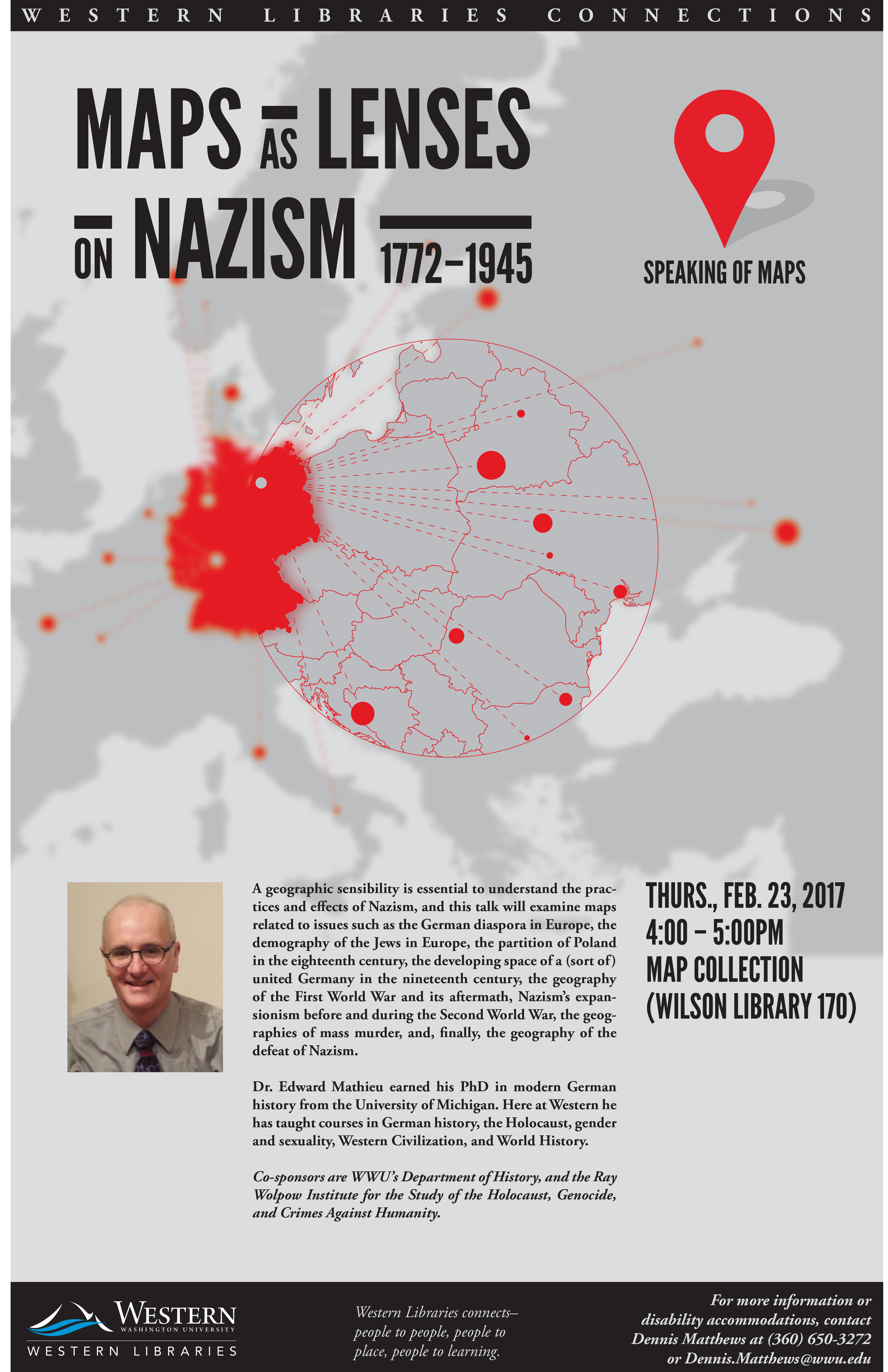 Maps as Lenses on Nazism